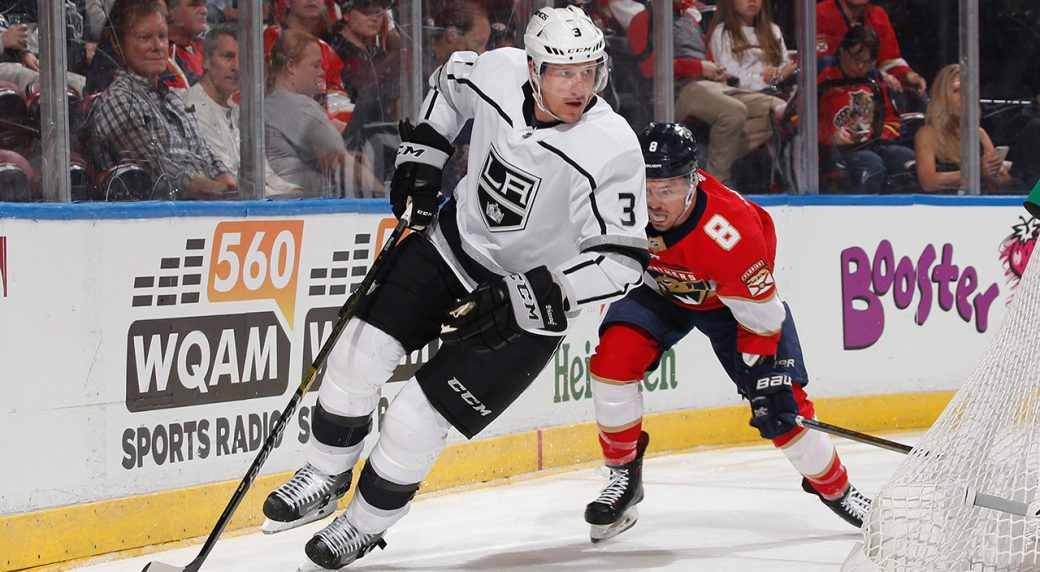 kings-dion-phaneuf-skates-with-puck-against-panthers