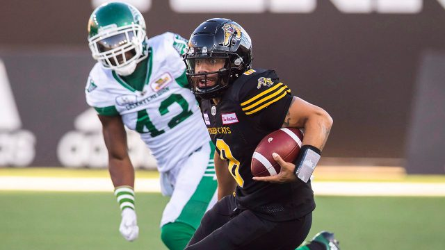 tiger-cats-qb-jeremiah-masoli-runs-against-roughriders