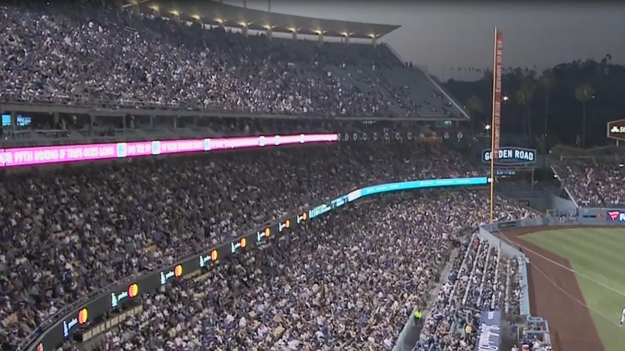 earthquake at dodger stadium