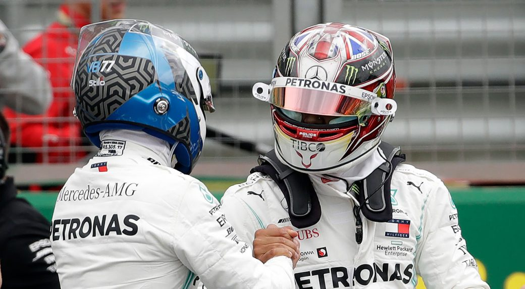 Auto-racing-Bottas-talks-to-Hamilton