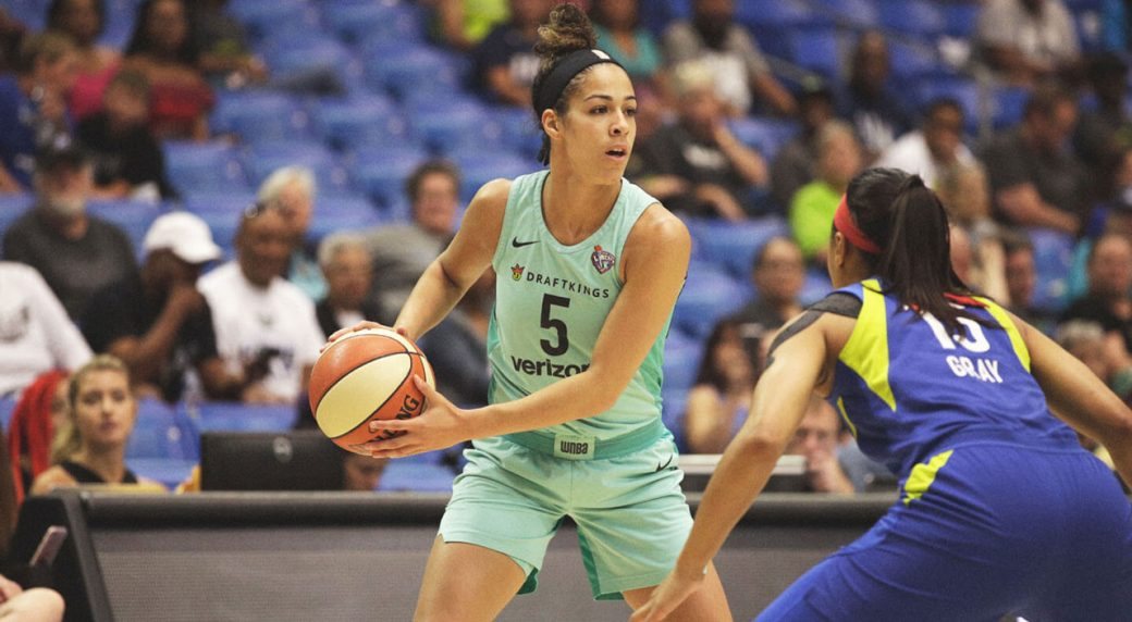 Erica Wheeler Becomes First Undrafted WNBA Player to Win All-Star Game MVP