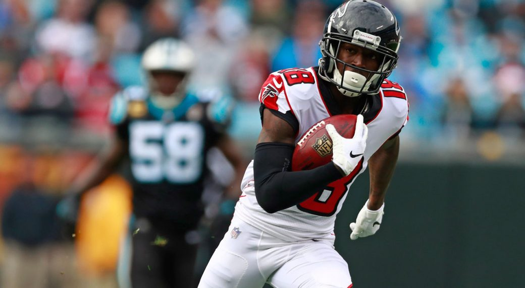 best service 8044e 45ff8 Falcons' Ridley still sidelined with sore hamstring ...