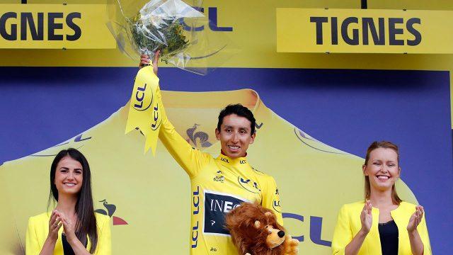 Cycling-Bernal-celebrates-win