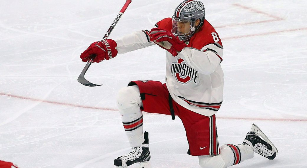 Dakota-Joshua-celebrates-goal-with-ohio-state