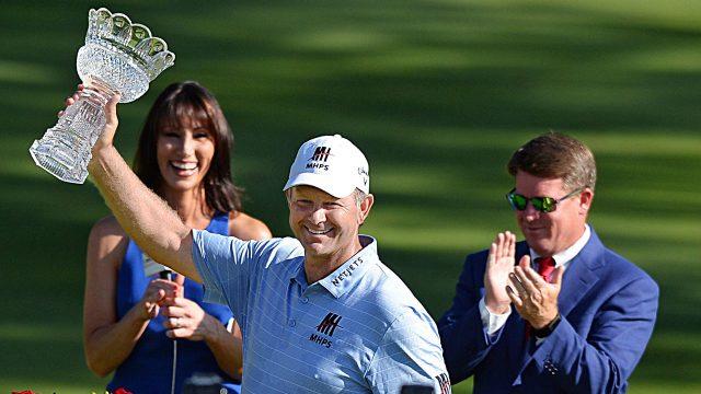 Golf-PGA-Goosen-celebrates-win