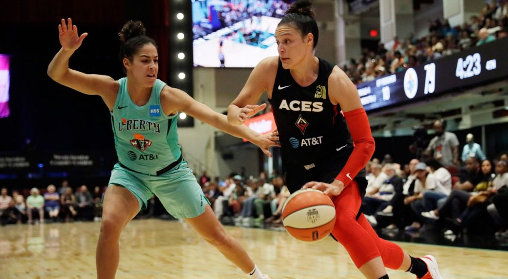 Hamilton's Kia Nurse named a starting guard for the WNBA all-star game
