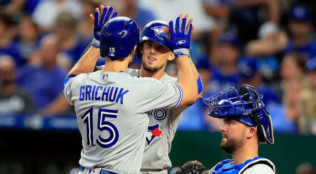 MLB-Blue-Jays-Grichuk-Biggio-celebrate