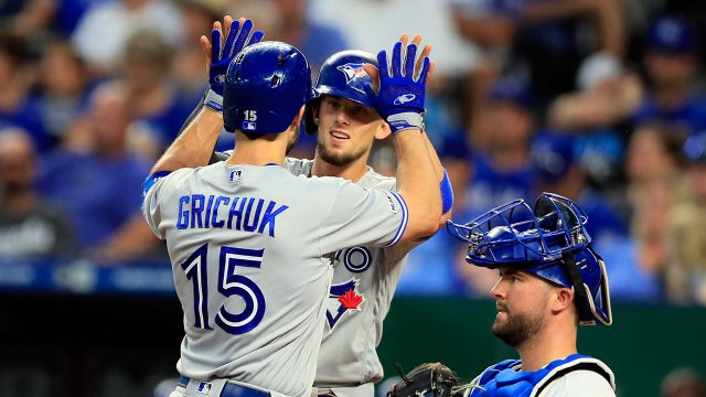 MLB-Blue-Jays-Grichuk-Biggio-celebrate