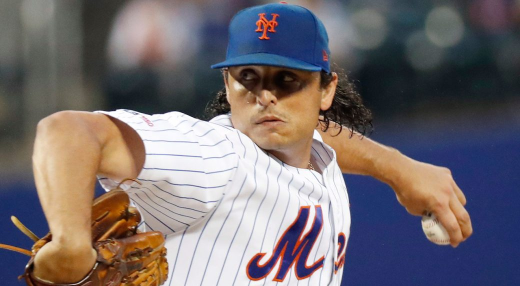 Mets get struggling Austin Bossart in Jason Vargas trade