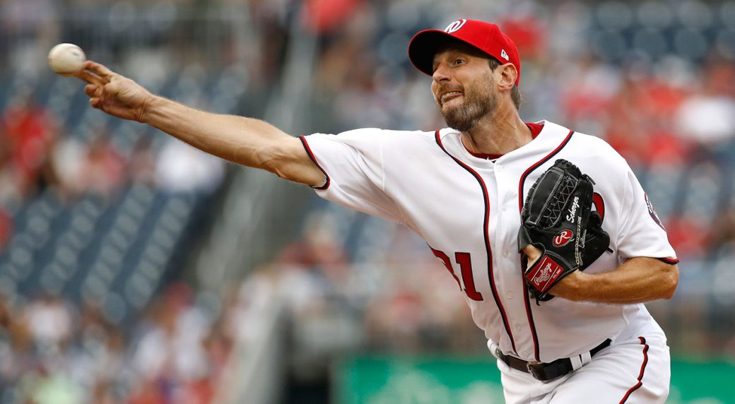 MLB-Nationals-Scherzer-throws