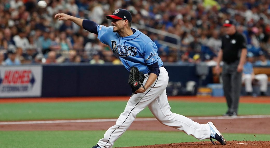 charlie morton gets 10th win as rays beat yankees sportsnet ca charlie morton gets 10th win as rays