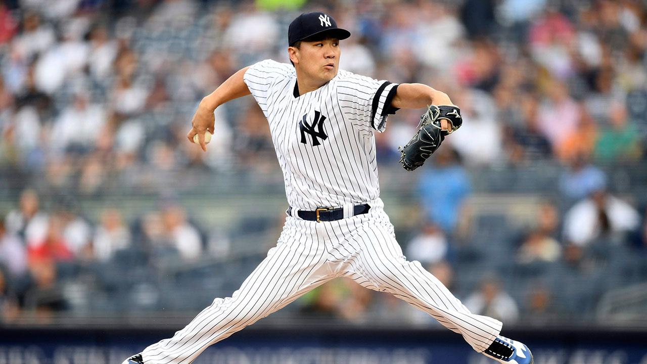 MLB-Yankees-Tanaka-throws-against-Rays