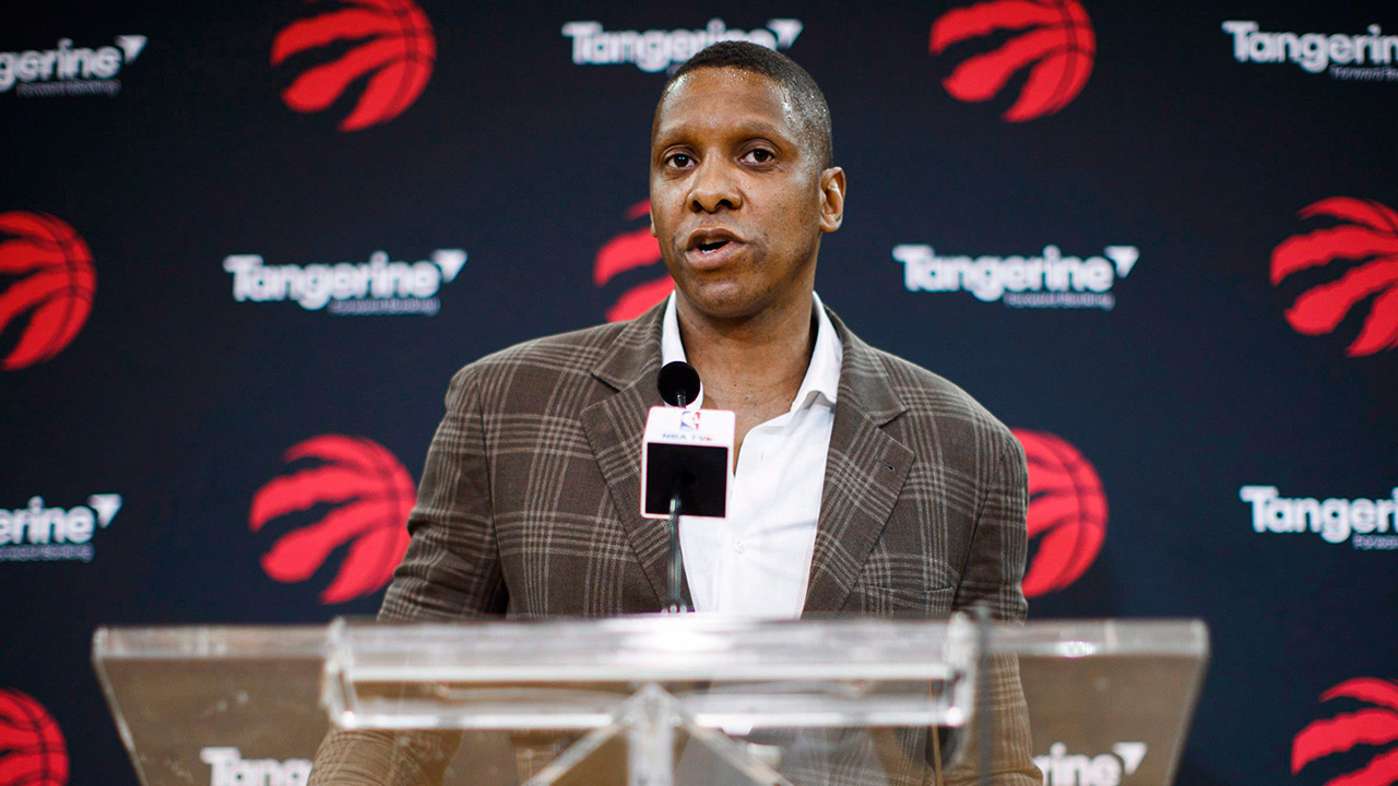 Report: Knicks owner Dolan 'enamoured of' Raptors' Ujiri