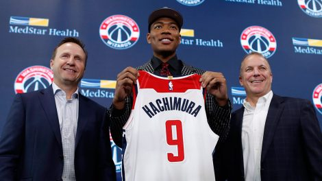 NBA-Wizards-introduce-Hachimura