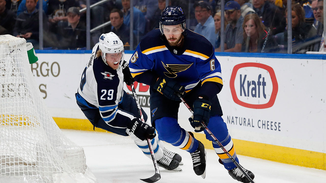 Arbitrator awards Blues defenceman Joel Edmundson $3.1M deal