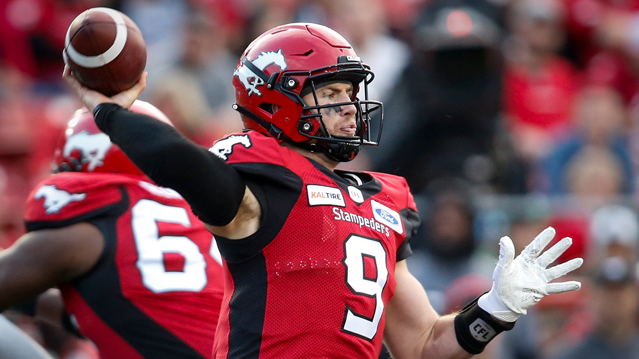 Stampeders to start Nick Arbuckle at quarterback against Alouettes