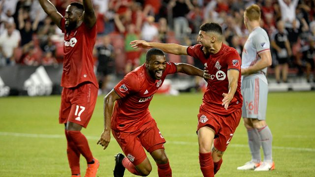 Soccer-MLS-TFC-celebrates-win