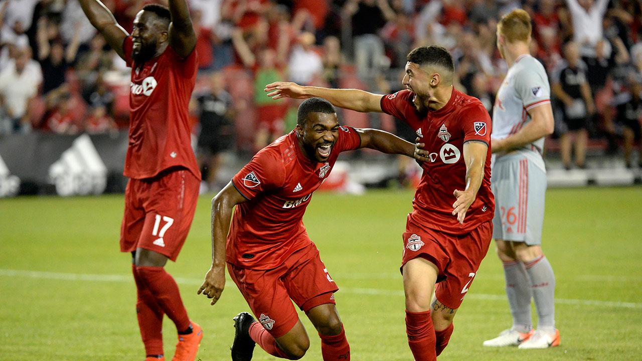 Soccer-MLS-TFC-celebrates-win