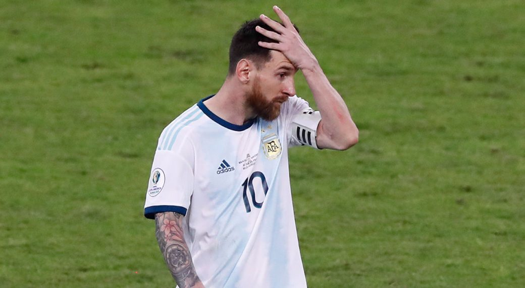 Messi suspended from Argentina for 3 months for comments
