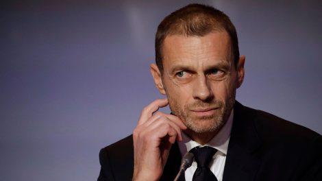 Soccer-UEFA-president-Ceferin