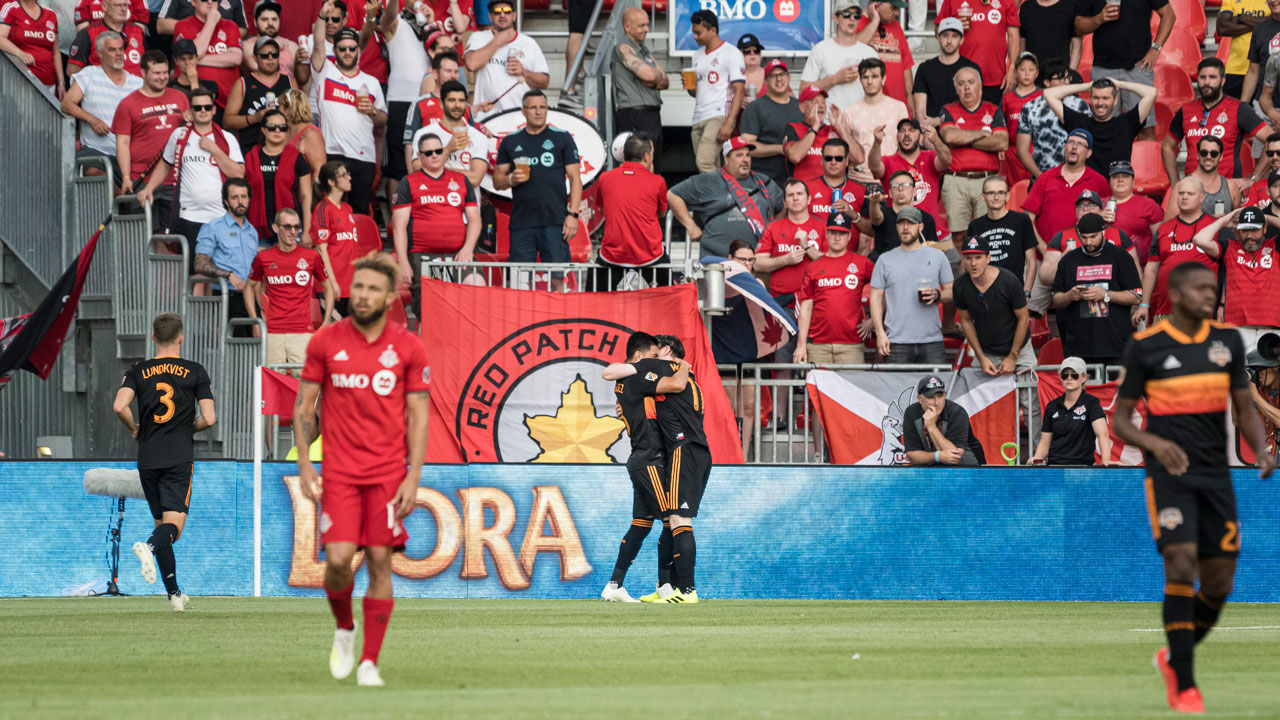 TFC's resurgence ends in ugly loss to visiting Dynamo