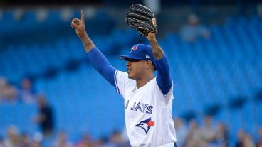 blue-jays-marcus-stroman-reacts-after-catch-by-teammate
