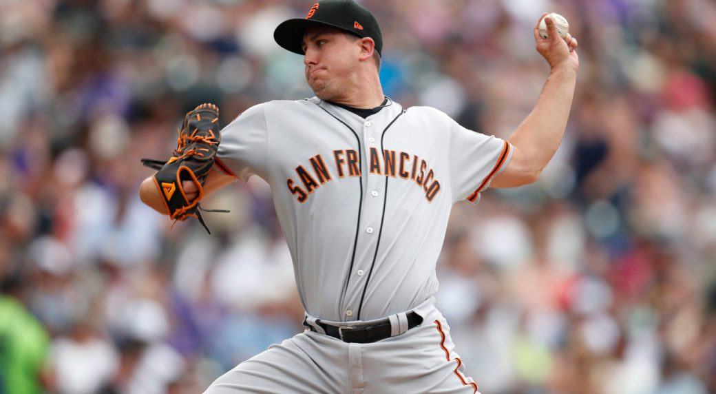 Cubs acquire P Holland from Giants