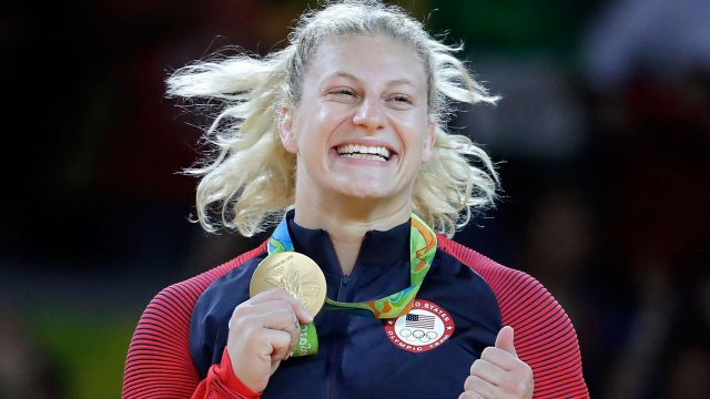 kayla-harrison-with-her-olympic-gold-medal