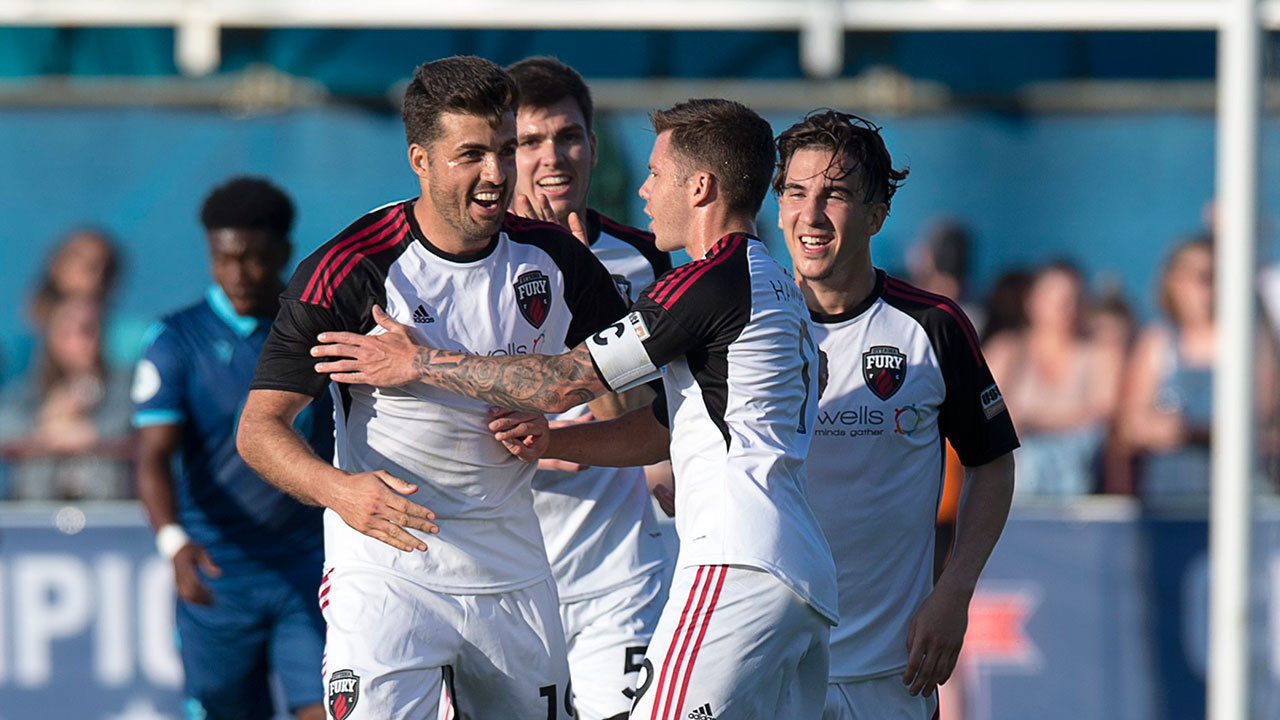 De Freitas leads Fury past Wanderers in Canadian Championship third round