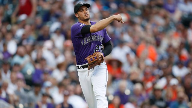rockies-nolan-arenado-throws-to-first-base-against-astros