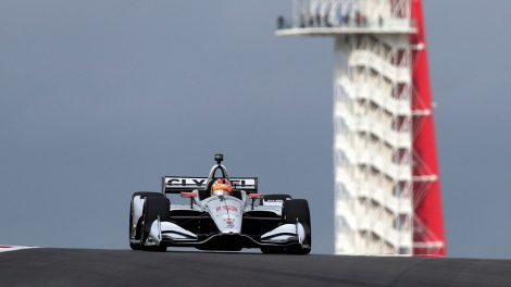 santino-ferrucci-drives-during-indycar-practice