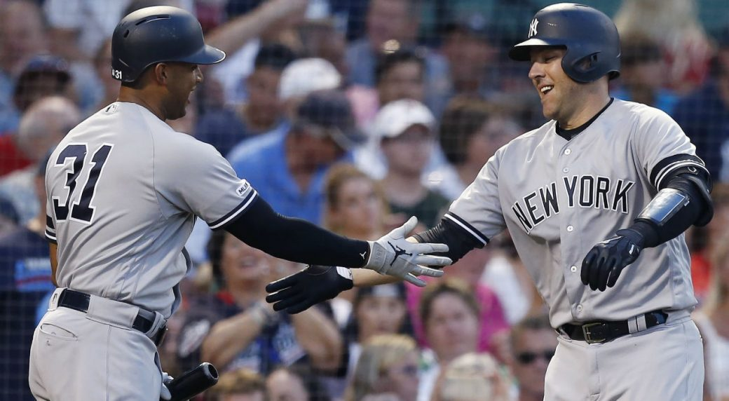 Yankees get to Sale, avoid sweep in Boston