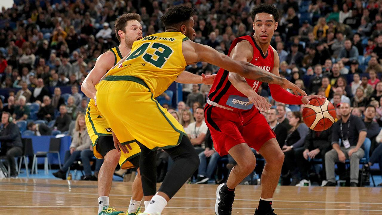 Canada loses to Australia in second FIBA World Cup tuneup
