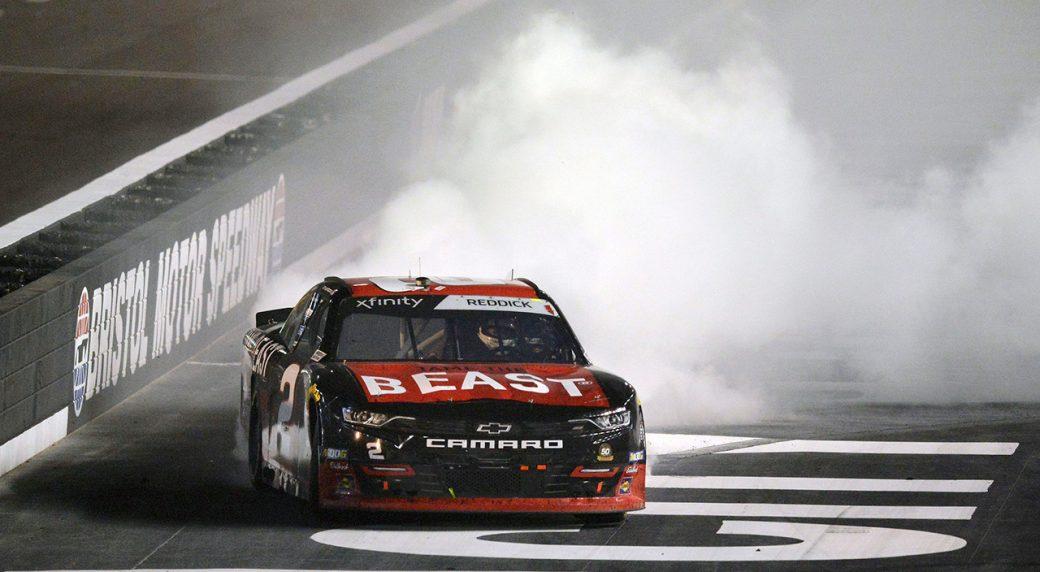 Auto-racing-Reddick-celebrates-after-win