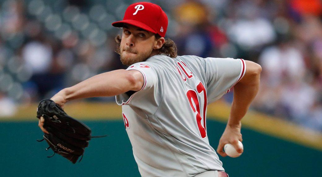 MLB-Phillies-Nola-throws