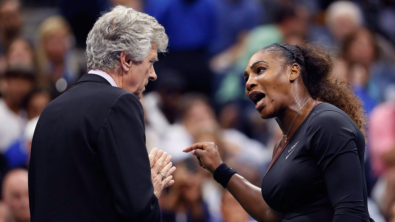 U.S Open first: Serena Williams vs. Maria Sharapova