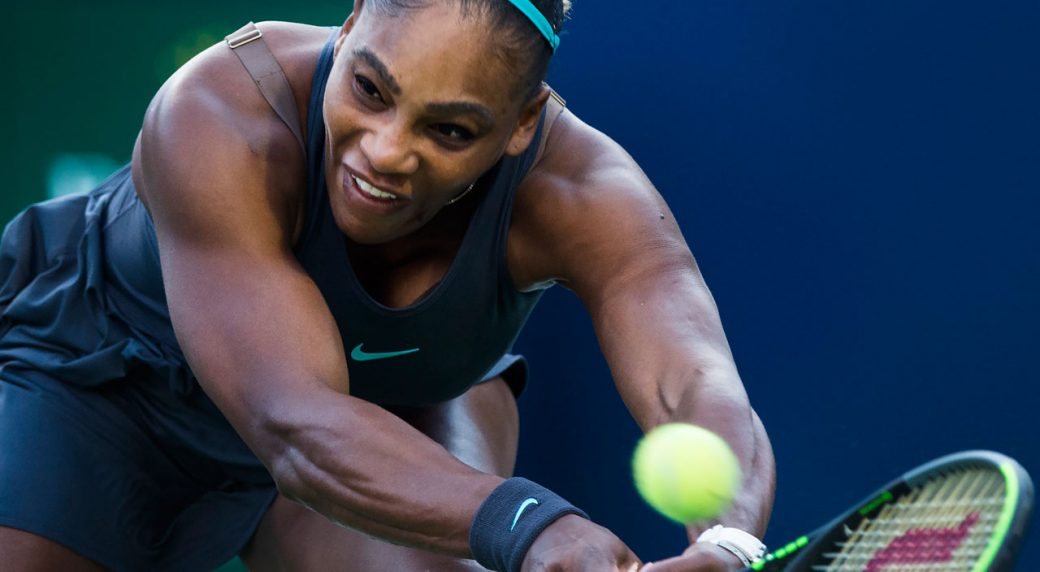 Serena powers past Osaka to reach Toronto semis