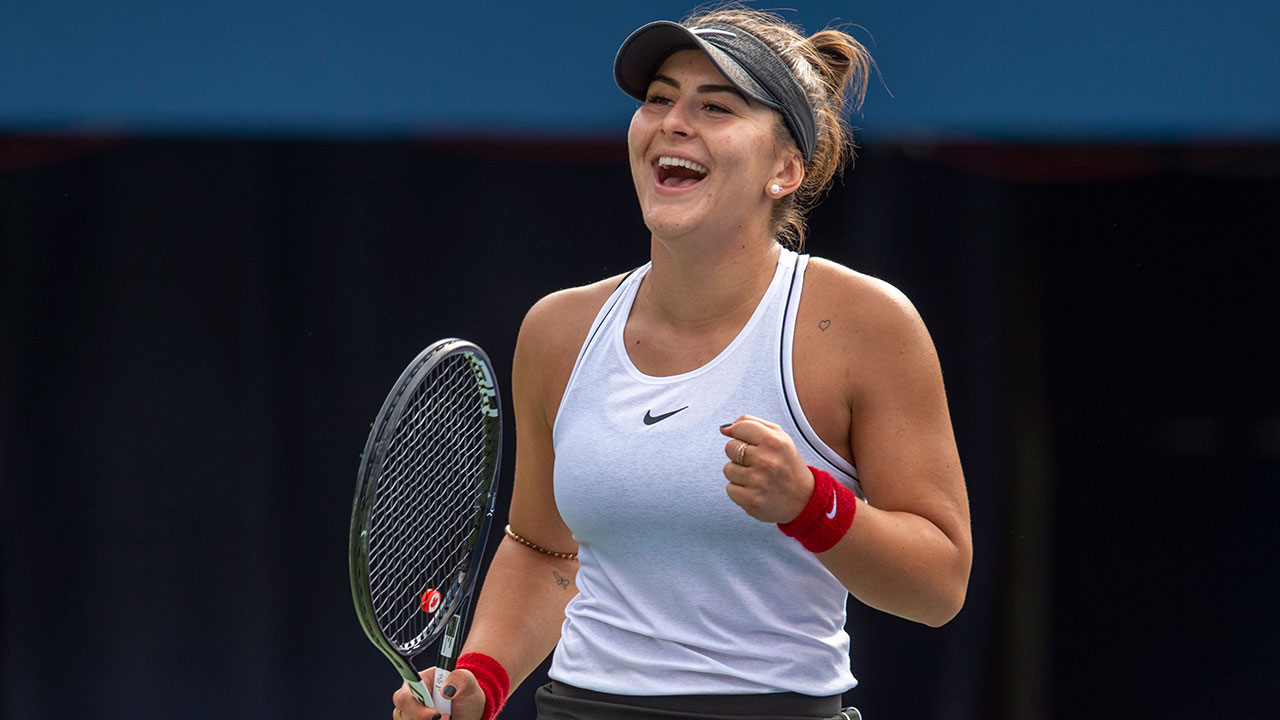 Canada's Bianca Andreescu wins WTA Newcomer of the Year award