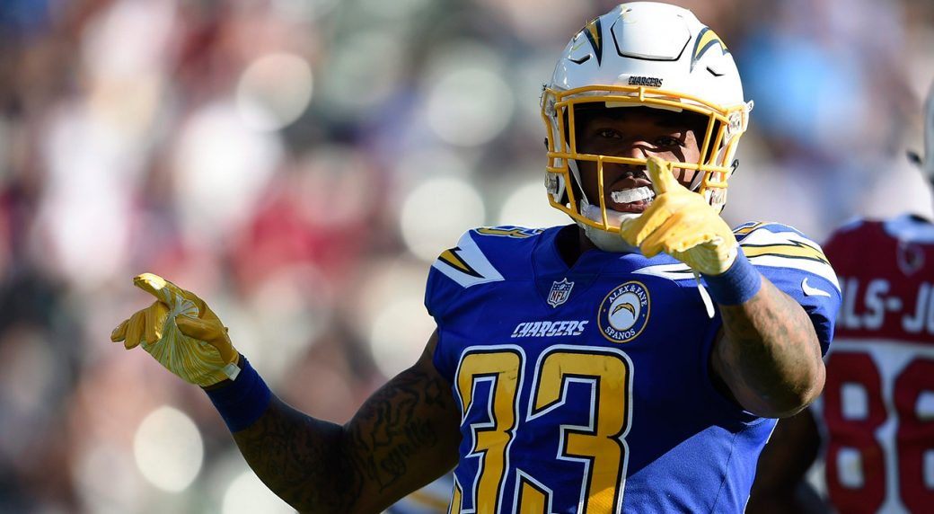 purchase cheap 15813 b4e2d Report: Chargers safety Derwin James to miss 'significant ...