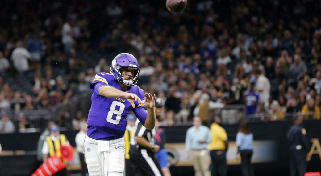 956d2b7b NFL Roundup: Vikings' Kirk Cousins flawless in pre-season debut ...