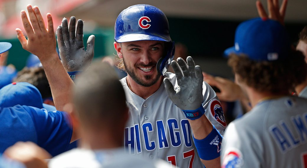 cubs-kris-bryant-celebrates-home-run-with-teammates