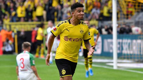 dortmunds-jadon-sancho-celebrates-scoring-goal