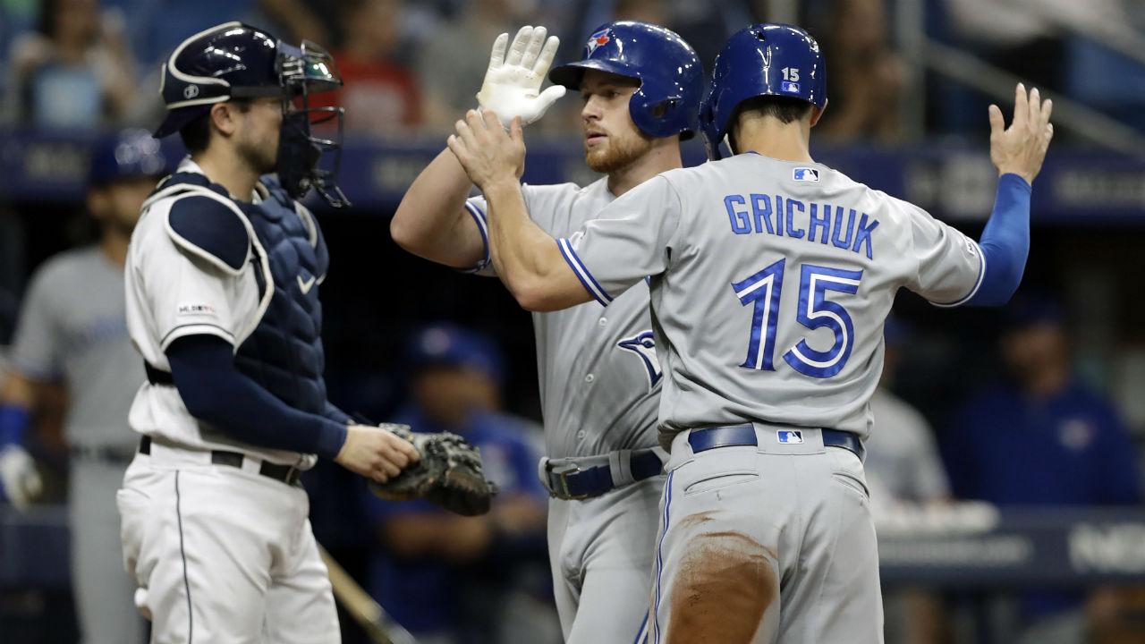 Blue Jays large underdogs against Rays on Thursday MLB odds