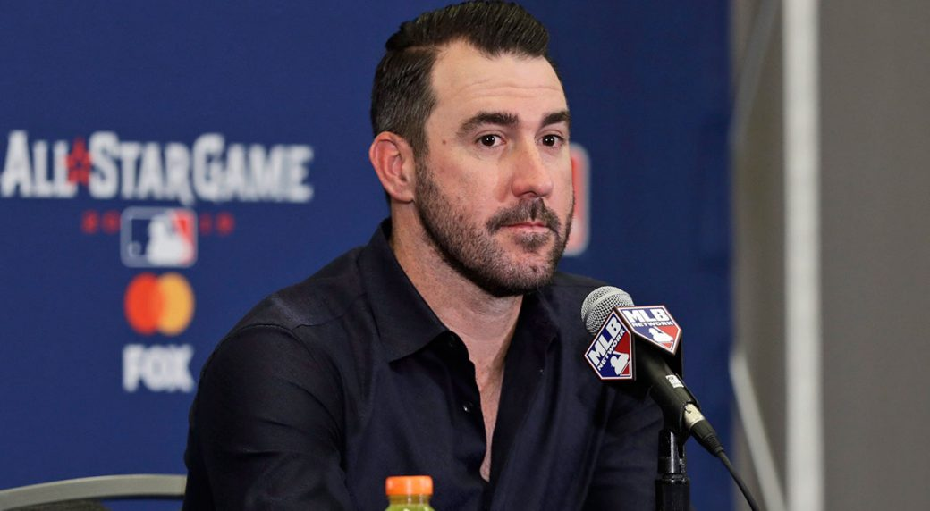Astros deny Detroit writer access to ex-Tigers star Justin Verlander