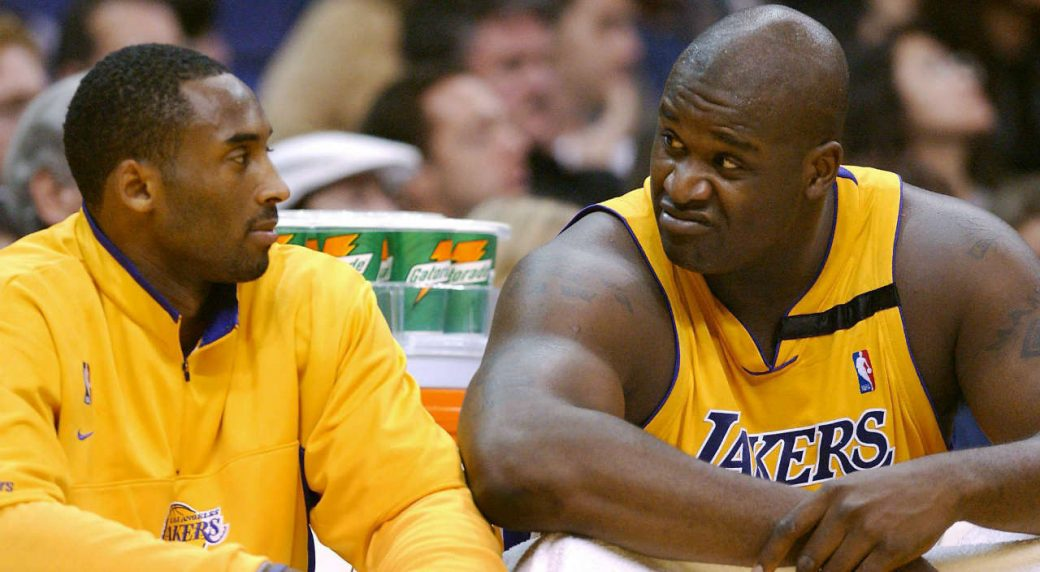 Kobe says he'd have 12 rings if Shaq 'was in the gym'