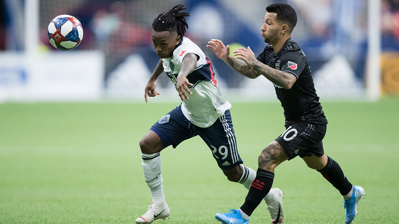 Reyna scores to lead Whitecaps to victory over D.C. United