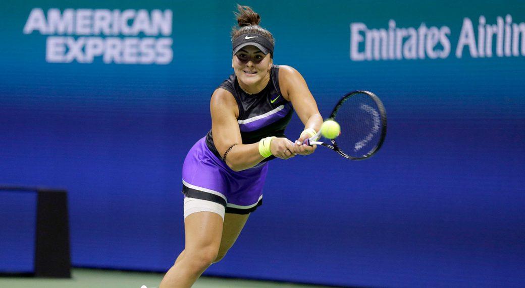 2019 Bianca Andreescu tennis season