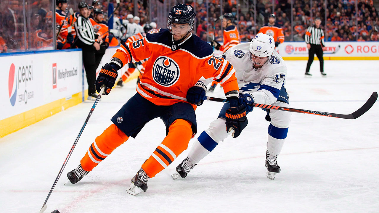 Leaner, smarter Nurse ready to take control of his progress for Oilers
