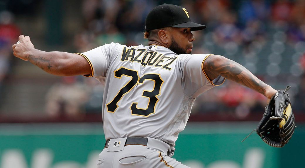 Pirates closer Felipe Vazquez arrested, charged with child solicitation