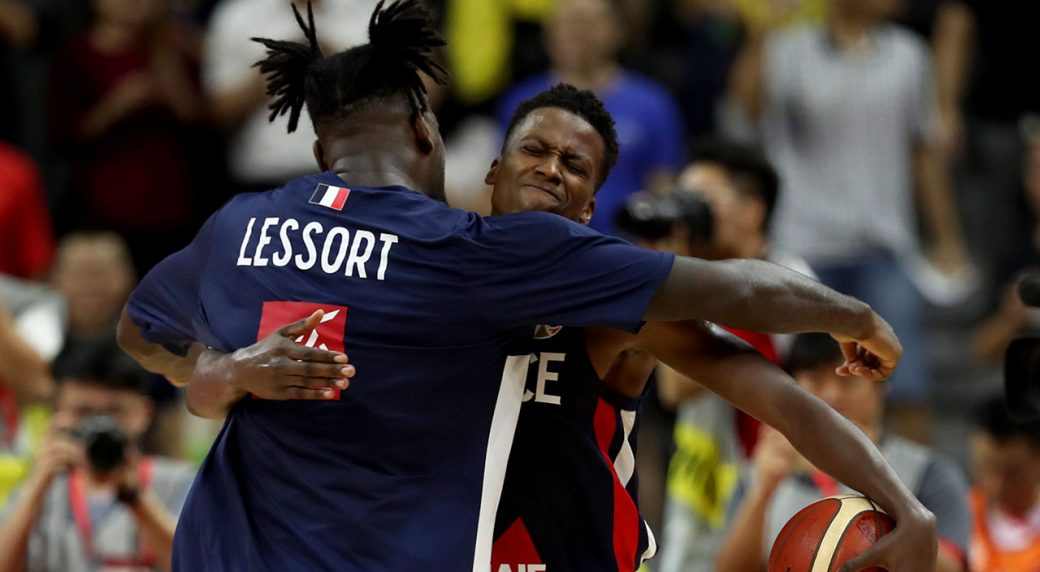 France Eliminate USA From FIBA World Cup